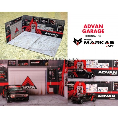 DIORAMA 1/64 - ADVAN GARAGE