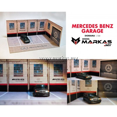 DIORAMA 1/64 - MERCEDES BENZ GARAGE