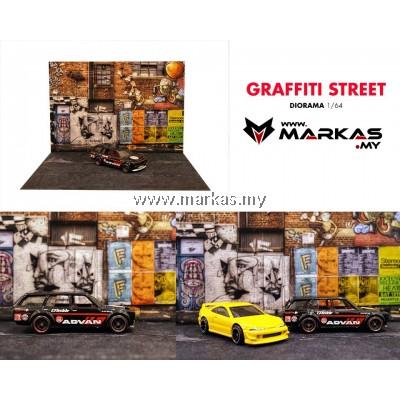 DIORAMA 1/64 - GRAFFITI STREET