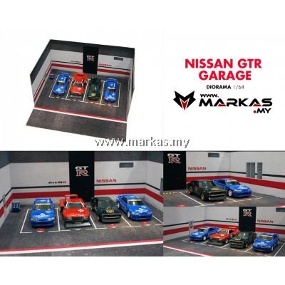 DIORAMA 1/64 - NISSAN GTR GARAGE