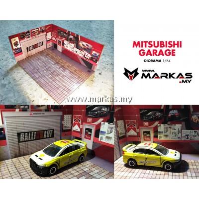 DIORAMA 1/64 - MITSUBISHI GARAGE