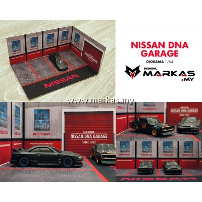 DIORAMA 1/64 - NISSAN DNA GARAGE