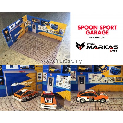 DIORAMA 1/64 - SPOON SPORT GARAGE