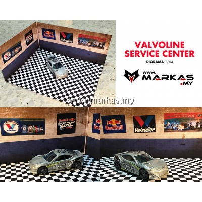 DIORAMA 1/64 - VALVOLINE SERVICE CENTER