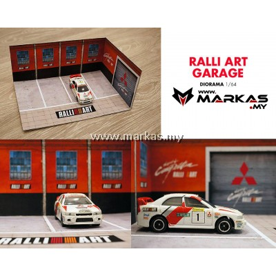 DIORAMA 1/64 - RALLI ART GARAGE