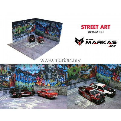 DIORAMA 1/64 - STREET ART