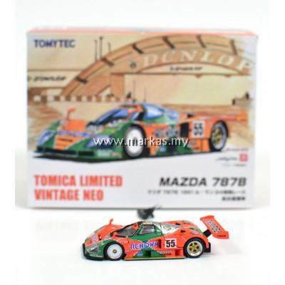 TOMICA LIMITED VINTAGE MAZDA 787B 1991 LE MANS WINNER'S CAR
