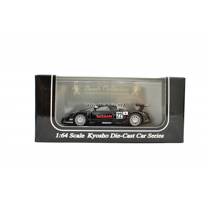 KYOSHO BEADS COLLECTION NISSAN R390GT11997 PRE-QUALIFICATIONS NO.22