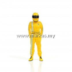 CUSTOM STIG 1/18 FERARRI (YELLOW)