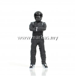 CUSTOM STIG 1/18 BLACK
