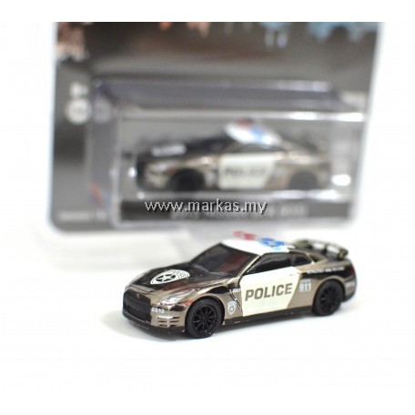 GREENLIGHT X MIJO EXCLUSIVE 2015 NISSAN GT-R R35 US POLICE