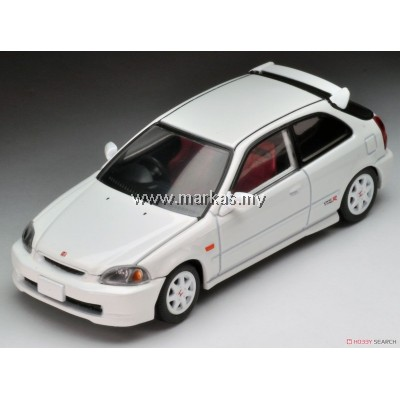 TOMICA LIMITED VINTAGE NEO LV-N158A HONDA CIVIC TYPE R 97' (WHITE)