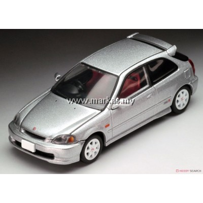 TOMICA LIMITED VINTAGE NEO LV-N158B HONDA CIVIC TYPE R 97' (SILVER)