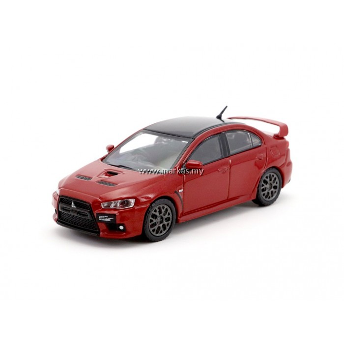tarmac works mitsubishi evo x final edition rally red. Black Bedroom Furniture Sets. Home Design Ideas