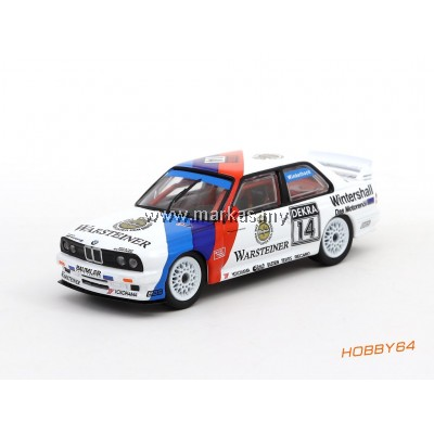 TARMAC WORKS 1/64 BMW M3 E30 #14 WINNER NORISRING DTM 1992 WINKELHOCK