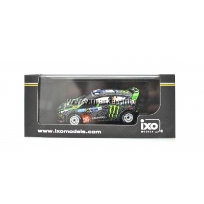 IXO MODELS 1/43 FORD FIESTA RS WRC #21 C.ATKINSON - S.PREVOT RALLY MEXICO 2012
