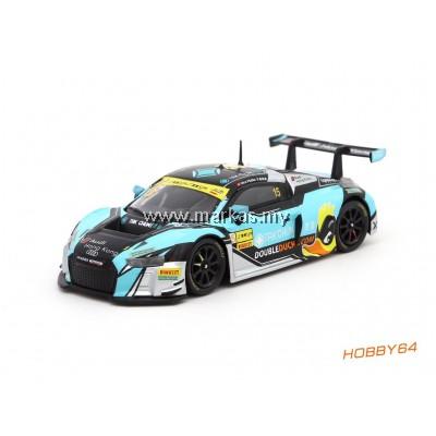 TARMAC WORKS 1/64 AUDI R8 LMS - FIA GT WORLD CUP MACAU 2016 - TAK CHUN GROUP / PHOENIX RACING ASIA - NICO MULLER