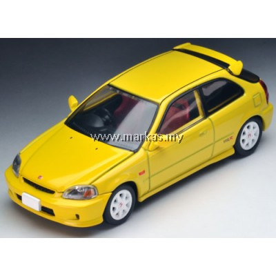TOMICA LIMITED VINTAGE NEO LV-N165A HONDA CIVIC TYPE R 99' (YELLOW)