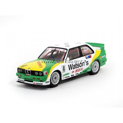 TARMAC WORKS 1/64 BMW M3 E30 - MACAU GUAIA WINNER 1991 - EMANUELE PIRRO
