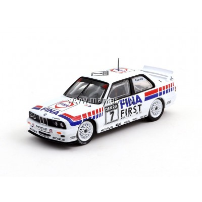 TARMAC WORKS 1/64 BMW M3 E30 -EVO DTM -1992 TEAM FINA #7 J.CECOTTO