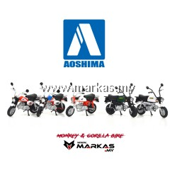 AOSHIMA 1/24 MONKEY AND GORILLA BIKE
