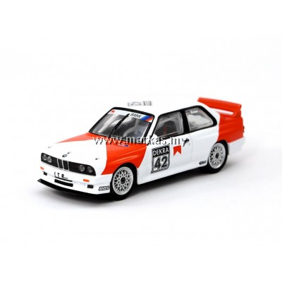TARMAC WORKS 1/64 BMW M3 E30 -EVO DTM -1991 COR EUSER