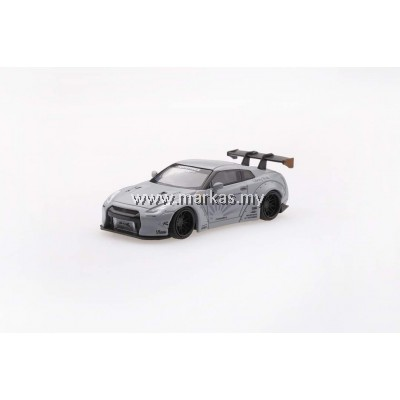 MINI GT 1/64 LB WORKS NISSAN GT-R R35 TYPE 1 REAR WING VER 1 MATTE GREY