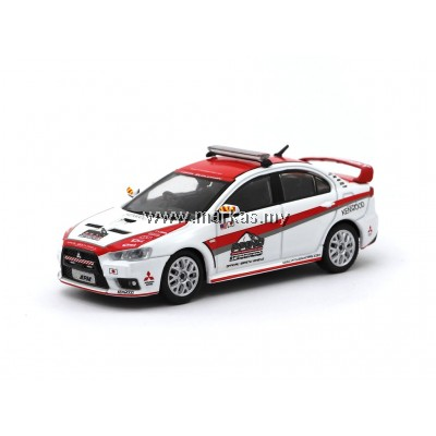 TARMAC WORKS 1/64 MITSUBISHI LANCER EVO X PIKES PEAK SAFETY CAR