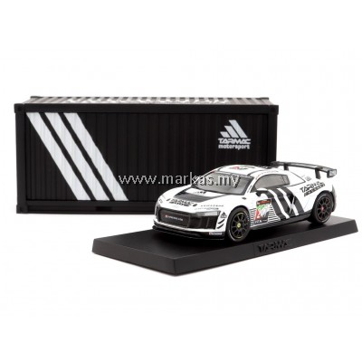 TARMAC WORKS 1/64 GLOBAL64 AUDI R8 LMS GT4 - DUBAI 24H 2018 PRESENTATION VERSION
