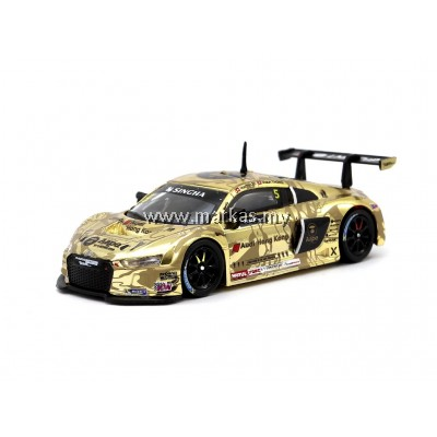 TARMAC WORKS 1/64 AUDI R8 LMS AAPE GT ASIA 2016 OVERALL 2ND PLACE