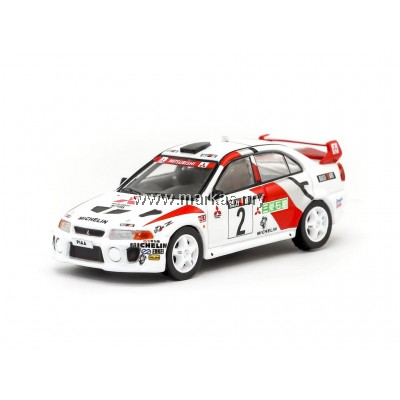 TARMAC WORKS 1/64 MITSUBISHI LANCER EVOLUTION V CHAMPION'S MEETING 1998
