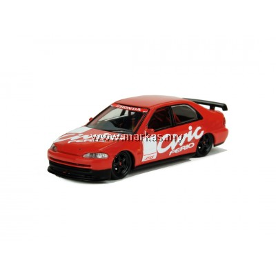 INNO MODELS INNO64 1/64 HONDA CIVIC FERIO JTCC TEST CAR 1995