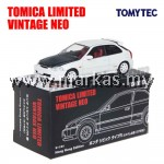 TOMICA LIMITED VINTAGE NEO HK EXCLUSIVE- TLV HONDA CIVIC TYPE R EK9 99 MODEL CUSTOM VERSION WHITE