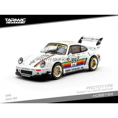TARMAC WORKS 1/64 PORSCHE RWB 930 APPLE #89