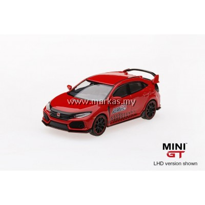 MINI GT 1/64 HONDA CIVIC TYPE R (FK8) TIME ATTACK 2018 (RHD)