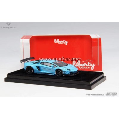 LB PERFORMANCE 1/64 LB LAMBORGHINI LP700 BABY BLUE