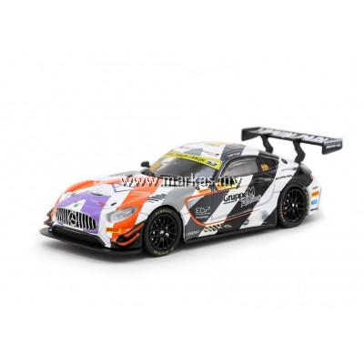 TARMAC WORKS 1/64 MERCEDES AMG GT3 FIA GT WORLD CUP 2018 3RD PLACE MARO ENGEL