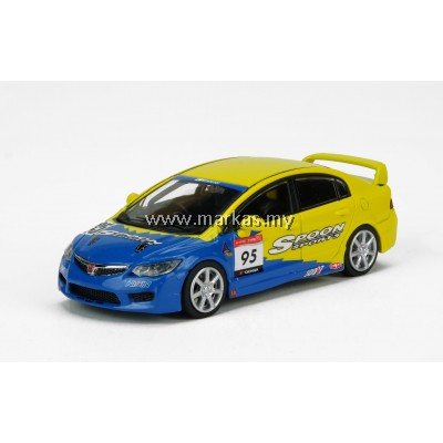 INNO MODELS INNO64 1/64 HONDA CIVIC TYPE R FD2 SPOON SPORTS