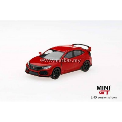 MINI GT 1/64 HONDA CIVIC TYPE R (FK8) RALLY RED (RHD)