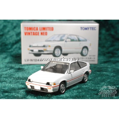 TOMICA LIMITED VINTAGE NEO LV-N124B HONDA BALLADE SPORTS CR-X 1.5i WHITE