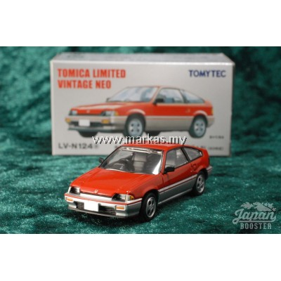 TOMICA LIMITED VINTAGE NEO LV-N124A HONDA BALLADE SPORTS CR-X 1.5i RED