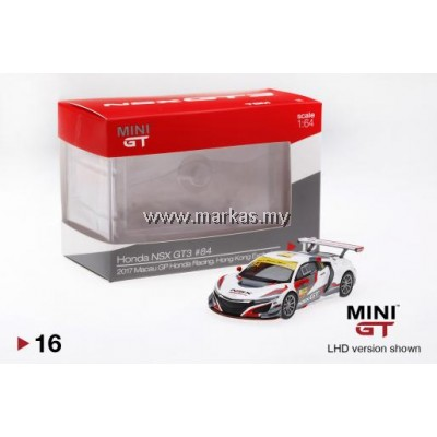 MINI GT 1/64 HONDA NSX GT3 #84 2017 MACAU GP HONDA RACING (HK EDITION)