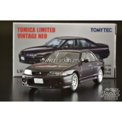 TOMICA LIMITED VINTAGE NEO LV-N151B NISSAN SKYLINE GT-R AUTECH VERSION 40TH ANNIVERSARY 1998 (PURPLE)