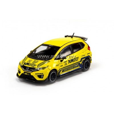 INNO MODELS INNO64 1/64 HONDA FIT 3 RS TUNED BY JUN AUTO MECHANIC HONG KONG TOY SOUL EXCLUSIVE