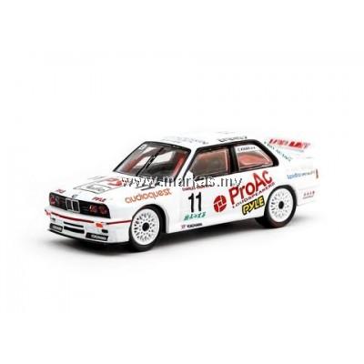 TARMAC WORKS 1/64 BMW M3 E30 MACAU GUIA RACE 1993 WINNER CHARLES KWAN *MACAU GP 2018 SPECIAL*