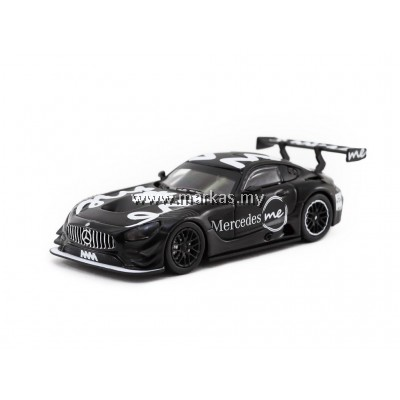 TARMAC WORKS 1/64 MERCEDES-AMG GT3 4A LIKE BLACK MERCEDES ME MACAU GP 2018 PRESENTATION  *MERCEDES ME STORE EXCLUSIVE*