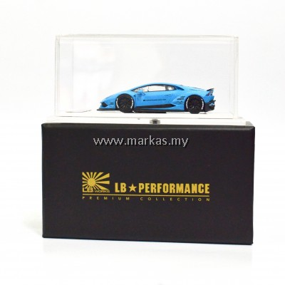 LB PERFORMANCE 1/64 HURACAN 610 BABY BLUE