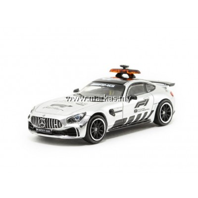 TARMAC WORKS 1/64 MERCEDES AMG GT R SAFETY CAR