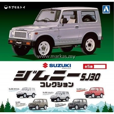 AOSHIMA 1/64 CAPSULE TOYS SUZUKI JIMNY SJ30 COLLECTION SET