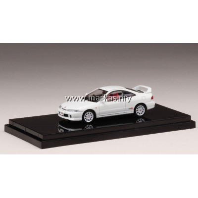 (PO) HOBBY JAPAN X MARK43 1/64 HONDA INTEGRA TYPE R (DC2) SUNLIGHT YELLOW